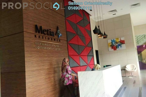 For Sale Serviced Residence at Metia Residence, Shah Alam Freehold Unfurnished 3R/2B 430k