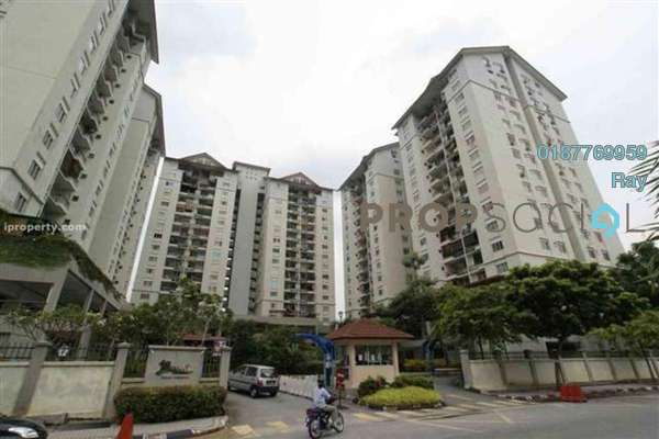 For Rent Condominium at Mentari Condominium, Bandar Sri Permaisuri Freehold Semi Furnished 3R/2B 1.3k