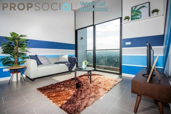 For Sale Serviced Residence at The Establishment, Brickfields Freehold Fully Furnished 1R/1B 620k