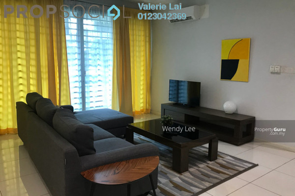 For Rent Condominium at LaCosta, Bandar Sunway Freehold Fully Furnished 3R/2B 3.15k