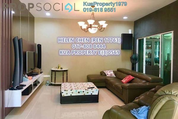 For Sale Semi-Detached at Green Heights, Kuching Leasehold Semi Furnished 4R/3B 1.25m