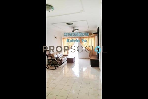 For Rent Condominium at Medan Putra Condominium, Bandar Menjalara Freehold Semi Furnished 4R/2B 1.2k