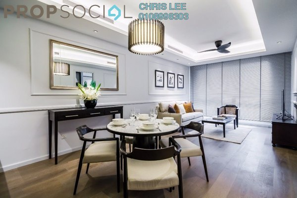 For Sale Condominium at The Ruma, KLCC Freehold Semi Furnished 2R/2B 2.25m