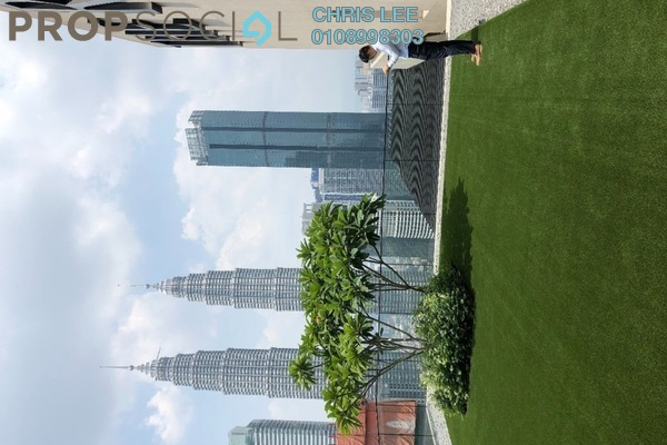 For Sale Condominium at The Ruma, KLCC Freehold Semi Furnished 3R/3B 3.11m