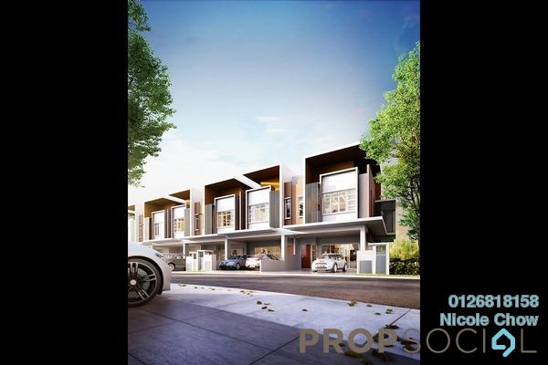 For Sale Terrace at Semanja, Kajang Freehold Unfurnished 4R/4B 830k