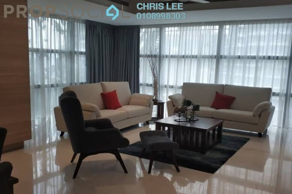 For Rent Condominium at Le Nouvel, KLCC Freehold Semi Furnished 4R/4B 12k