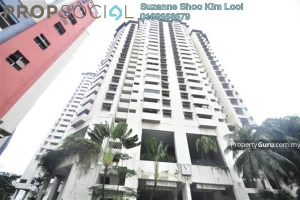 For Rent Condominium at The Vistana Residences, Titiwangsa Freehold Semi Furnished 3R/2B 2.5k