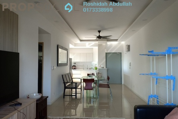 For Rent Serviced Residence at Suria Residence, Bukit Jelutong Freehold Fully Furnished 3R/2B 2.5k