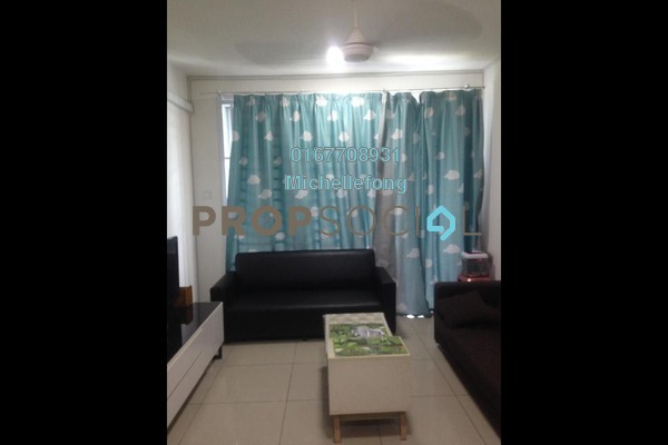 For Sale Serviced Residence at D'Ambience, Johor Bahru Freehold Semi Furnished 3R/2B 450k