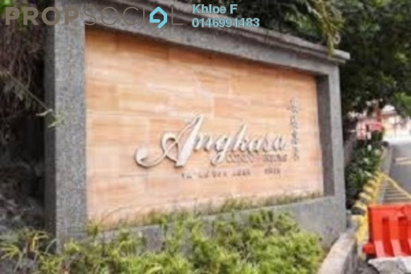 For Sale Condominium at Angkasa Condominiums, Cheras Freehold Fully Furnished 3R/2B 395k