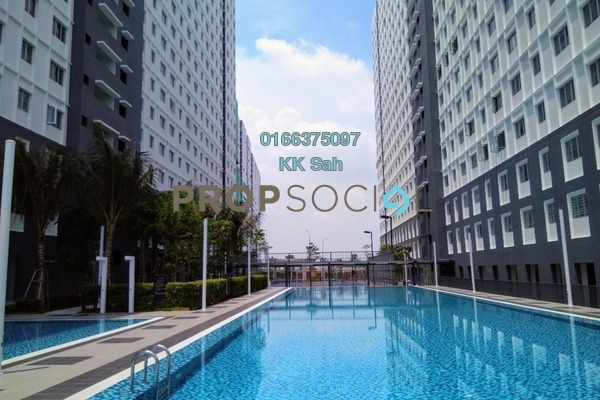 For Rent Apartment at Eco Majestic, Semenyih Freehold Semi Furnished 3R/2B 750translationmissing:en.pricing.unit