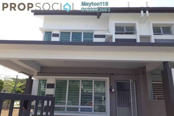For Sale Terrace at Hillpark, Semenyih Freehold Semi Furnished 4R/3B 499k