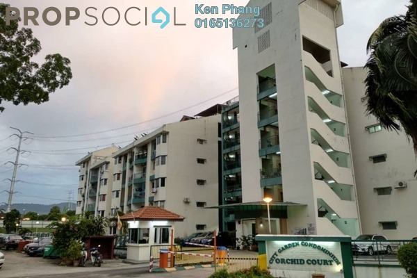 For Sale Condominium at City Garden Orchid Court, Ampang Freehold Semi Furnished 3R/2B 380k