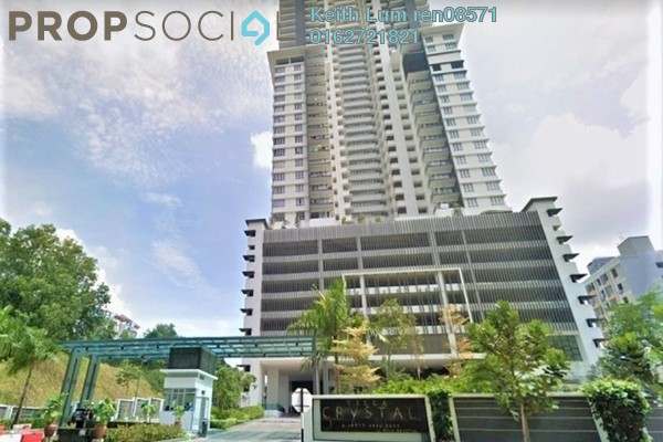 For Sale Condominium at Villa Crystal, Segambut Freehold Unfurnished 3R/2B 650k