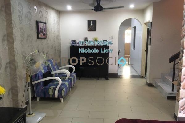 For Sale Terrace at Taman Jelok Indah, Kajang Freehold Semi Furnished 4R/3B 538k