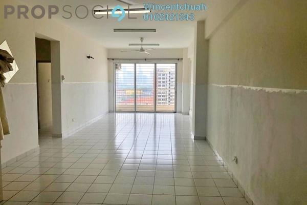 For Rent Condominium at Prima Setapak II, Setapak Freehold Semi Furnished 3R/2B 1.6k