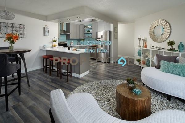 For Sale Condominium at Henna Residence @ The Quartz, Wangsa Maju Freehold Semi Furnished 3R/2B 470k