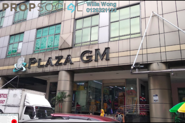 For Sale Shop at Plaza GM, Chow Kit Freehold Unfurnished 0R/0B 3.3m