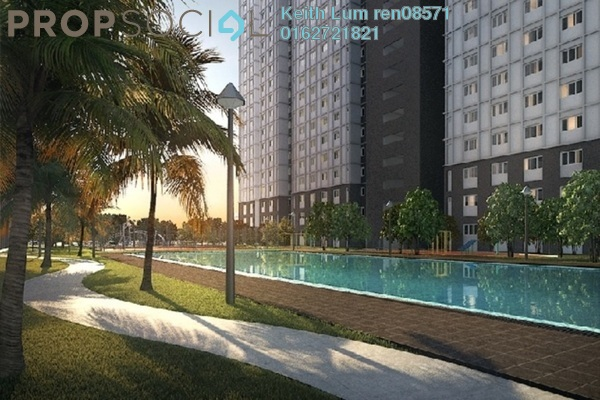 For Sale Condominium at Eco Majestic, Semenyih Leasehold Unfurnished 3R/2B 61.4k