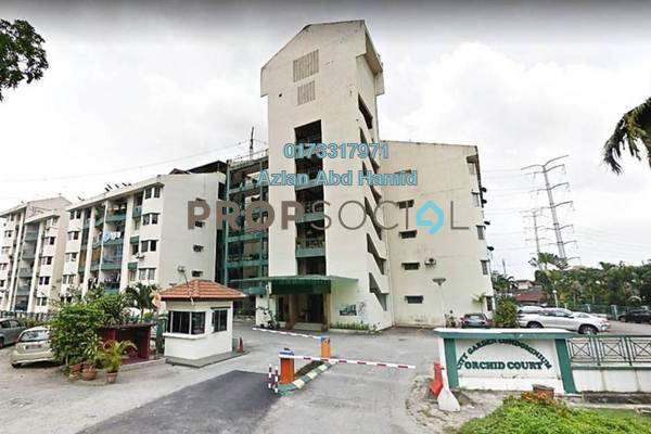 For Sale Condominium at City Garden Orchid Court, Ampang Freehold Unfurnished 3R/2B 400k
