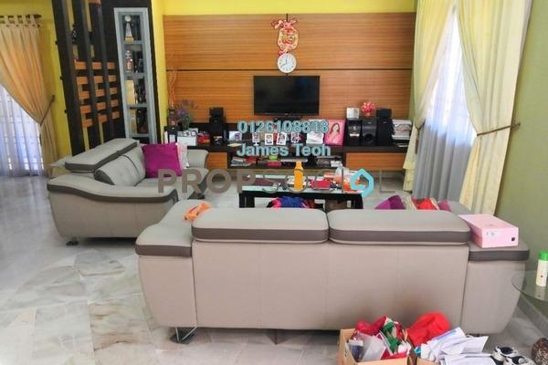 For Sale Terrace at Taman Mewah Jaya, Klang Freehold Semi Furnished 4R/3B 730k