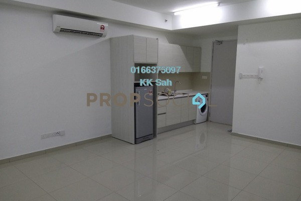 For Rent Condominium at i-City, Shah Alam Freehold Fully Furnished 1R/1B 1.2k