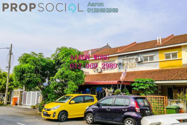 For Sale Terrace at SP 8, Bandar Saujana Putra Freehold Semi Furnished 3R/2B 350k