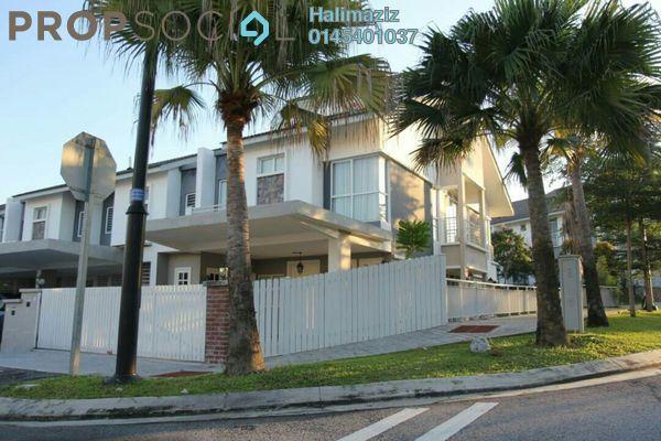For Sale Terrace at Precinct 11, Putrajaya Freehold Semi Furnished 4R/3B 1.05m