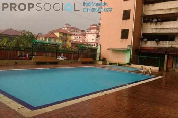 For Sale Apartment at Taman Gombak Permai, Batu Caves Freehold Unfurnished 3R/2B 260k