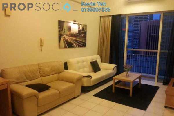 For Rent Condominium at Seri Bukit Ceylon, Bukit Ceylon Freehold Fully Furnished 1R/1B 2.4k