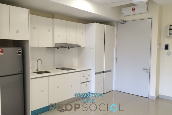 For Rent Serviced Residence at Suria Jelutong, Bukit Jelutong Freehold Semi Furnished 0R/1B 1k