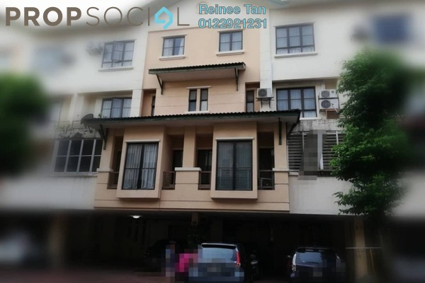 For Sale Townhouse at Prima Court, Kemensah Freehold Semi Furnished 4R/3B 750k