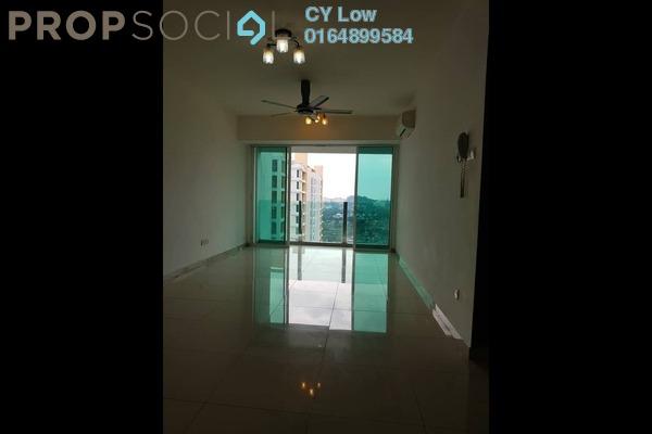 For Rent Condominium at The Zest, Bandar Kinrara Freehold Semi Furnished 3R/2B 1.5k