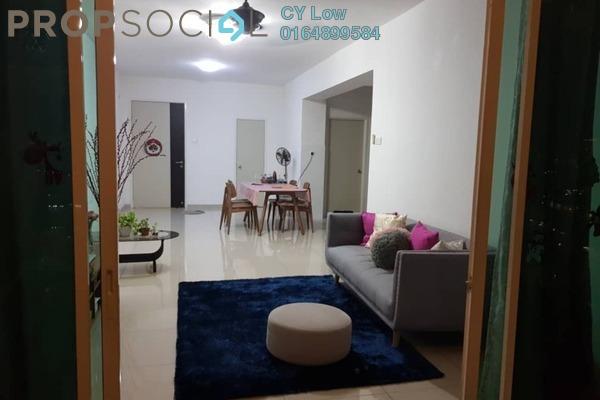 For Rent Condominium at The Zest, Bandar Kinrara Freehold Semi Furnished 3R/2B 1.6k