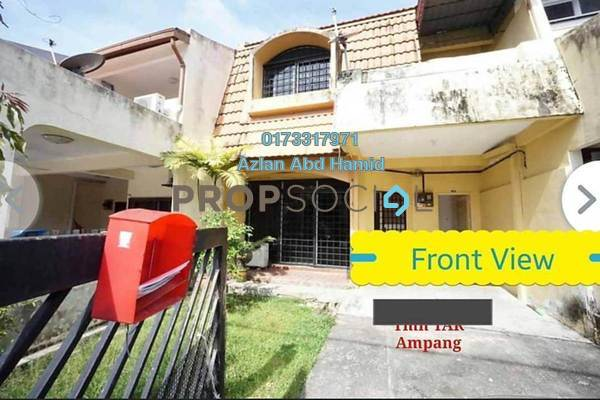 For Sale Terrace at Taman TAR, Ampang Freehold Unfurnished 4R/3B 750k