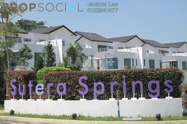 For Sale Semi-Detached at Sutera Damansara, Damansara Damai Freehold Semi Furnished 5R/5B 886k