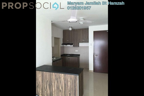 For Rent Apartment at Alam Sanjung, Shah Alam Freehold Semi Furnished 3R/2B 1.5k