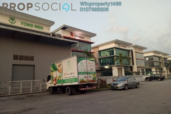 For Rent Factory at Taman Perindustrian Plentong, Johor Bahru Freehold Semi Furnished 0R/0B 10k