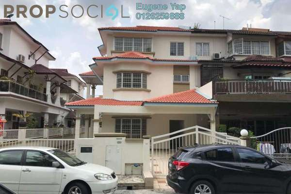 For Sale Terrace at Fadason Park, Jinjang Freehold Semi Furnished 6R/4B 1.2m