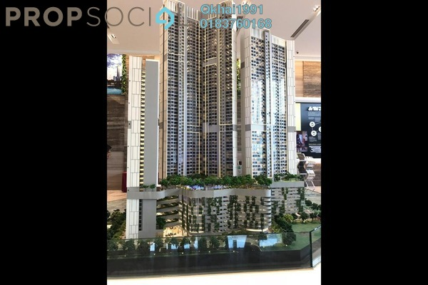 For Sale Condominium at Agile , Bukit Bintang Freehold Semi Furnished 2R/2B 1.1m