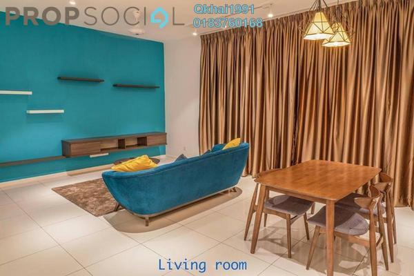 For Rent Condominium at EcoSky Residence, Kuala Lumpur Freehold Fully Furnished 3R/2B 2k