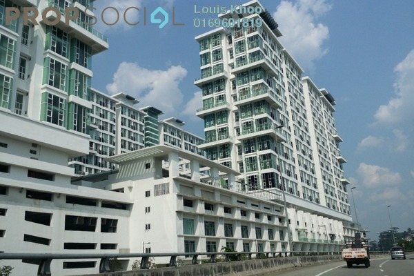 For Sale Condominium at The Scott Garden, Old Klang Road Freehold Fully Furnished 2R/1B 370k