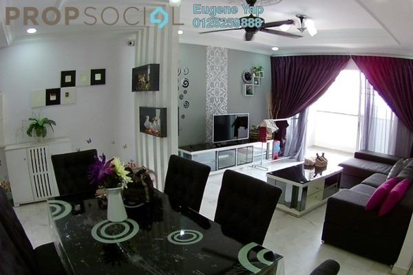 For Sale Apartment at Seri Puri, Kepong Freehold Fully Furnished 3R/2B 440k