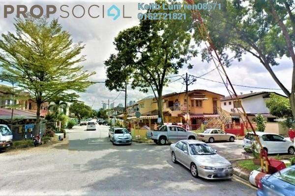 For Sale Terrace at Taman Mastiara, Jalan Ipoh Freehold Semi Furnished 4R/3B 650k