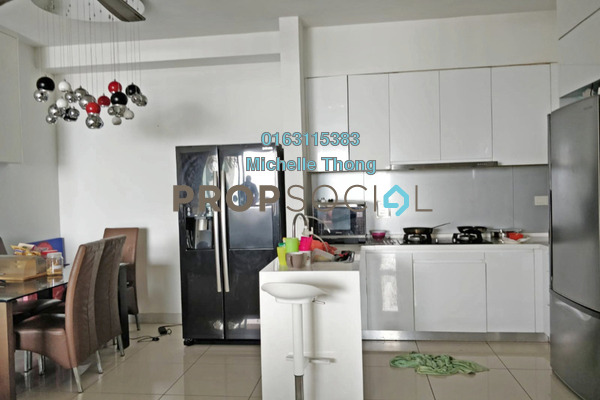 For Rent Condominium at The Westside One, Desa ParkCity Freehold Semi Furnished 2R/2B 3.3k