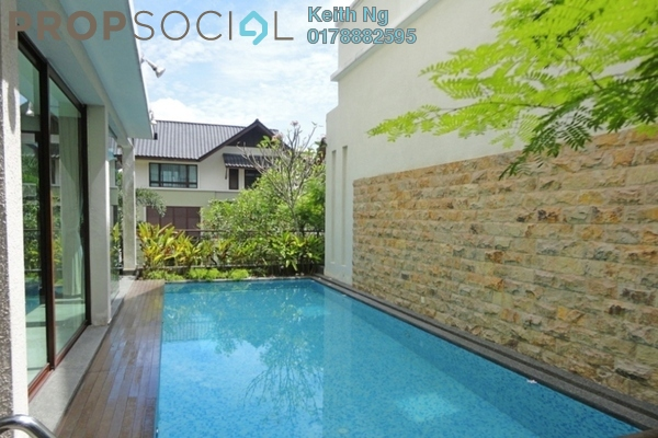 For Sale Villa at Villa Mont Kiara, Mont Kiara Freehold Semi Furnished 5R/6B 5m