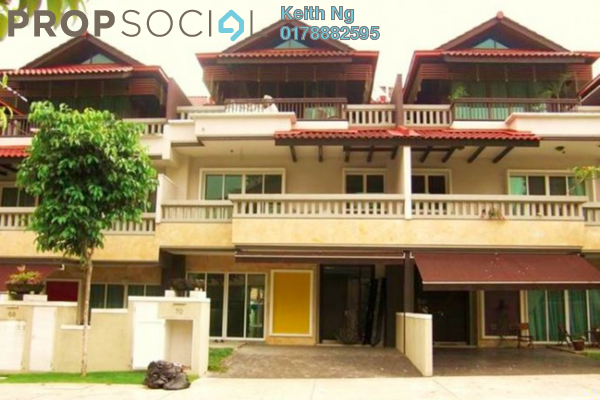 For Sale Terrace at Duta Tropika, Dutamas Freehold Semi Furnished 5R/6B 3.5m