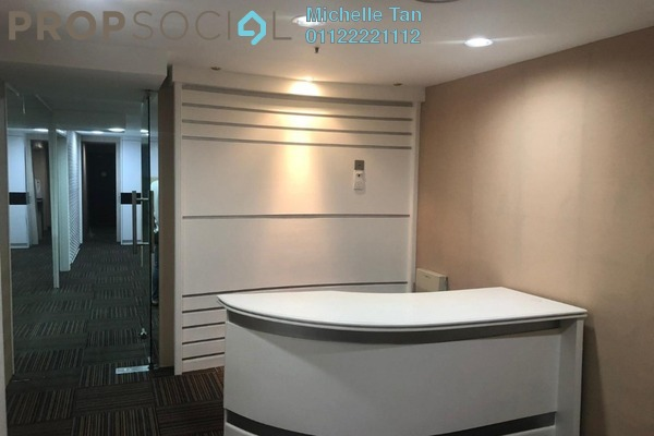 For Sale Office at Plaza 138, KLCC Freehold Fully Furnished 0R/0B 1m