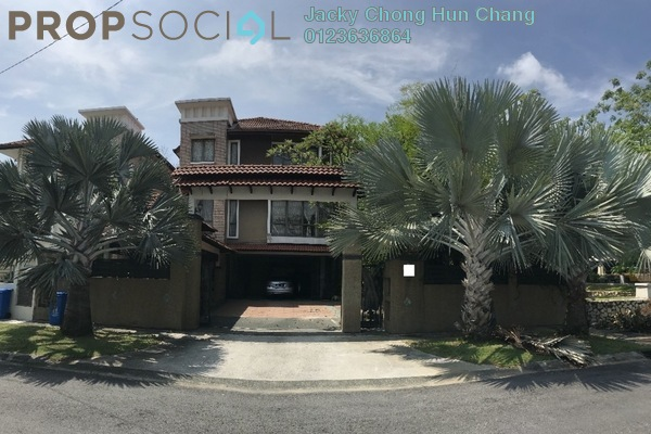 For Sale Semi-Detached at Kota Kemuning Hills, Kota Kemuning Freehold Semi Furnished 7R/5B 3.85m