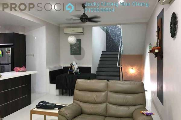 For Sale Townhouse at Aqua Villa, Shah Alam Freehold Fully Furnished 3R/4B 860k